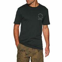 VOLCOM Mens New Alliance BSC Short Sleeve Tee T-Shirt - Surf Skate Top - Black
