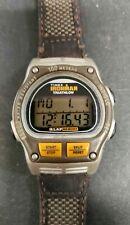 Vintage Timex Ironman Triathlon 746 Split Button Watch New Battery Nice
