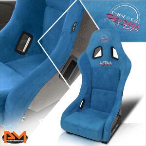 NRG Innovations FRP-303BL-ULTRA Prisma Ultra Fixed Back Bucket Racing Seat Blue
