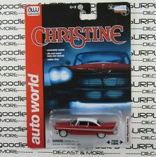 Auto World 1:64 Scale Silver Screen Machines 1958 PLYMOUTH FURY from CHRISTINE