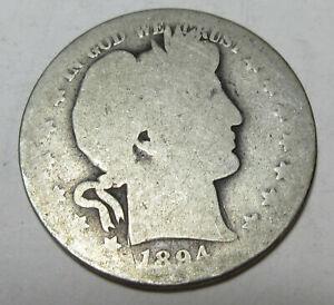 1894-O Barber Half (#212BB)