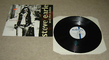 "Steve Earle & The Dukes Justice In Ontario 12"" Single A1U B1U Pressing - EX"