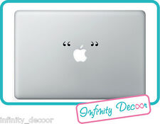 "Adesivo Stickers ""Virgolette"" per  MacBook Pro/Air 11"",13"",15"",17"""