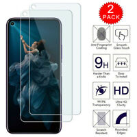 For Huawei Honor 20 / 20 Pro - Clear HD Tempered Glass Screen Protector [2-Pack]