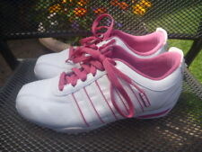 K SWISS WHITE PINK SIZE UK 5 EUR 38 TRAINERS LADIES
