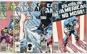 Captain America #321 - 324, 326 - 340  avg. VF/NM0 9.0  Marvel  1986  No Reserve