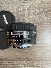 Nikon NIKKOR 28mm f/2.8 AF Lens