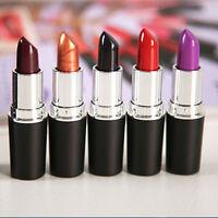 New Lipstick Matte Satin Lipsticks Ruby Woo Diva Rebel Most Wanted Fashion  FOUK