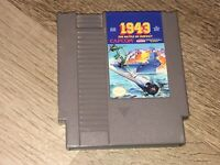 1943 Nintendo Nes Cleaned & Tested Authentic