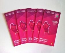 London 2012 Olympic Games - Olympics Paralympic Basketball Spectator Guides