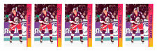 (5) 1993 Ballstreet Teemu Selanne Hockey Card Lot Winnipeg Jets