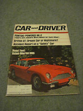Car and Driver Magazine 1966 Jul Road Test: Aston Martin DB6 Griffith GT