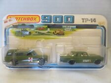 Matchbox SuperFast 900 Military Mercedes 300SE Binz Ambulance TP-14 Die-Cast B