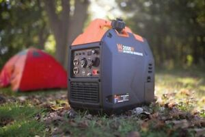 WEN 56203i Super Quiet Silent2000-Watt Portable Inverter Generator Fuel Shut Off