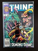 THE THING #13 MARVEL COMICS 1984 VF NEWSSTAND EDITION