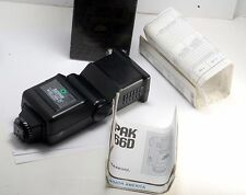 SUNPAK THYRISTOR Auto 266D NIKON Dedicated Series 650-276 New In Box W Manual