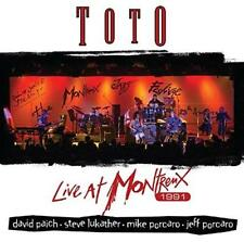 Toto - Live At Montreux / 1991 (NEW CD)