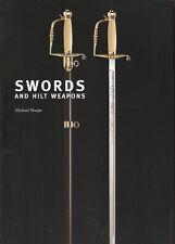 SHARPE MICHAEL KNIVES BOOK SWORDS AND HILT WEAPONS hardback BARGAIN new