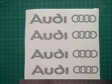 Audi....logo / badge car vinyl decal sticker ....x4