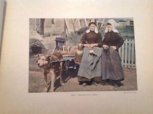EN BELGIQUE : Sites, Paysages  circa 1882.