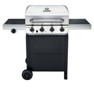 Char-Broil Performance 4-Burner Gas Grill Barebeque Propane BBQ