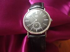MEN'S MOVADO VINTAGE WATCH UHR MONTRE MECHANISCH stainless steel SELTEN