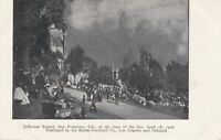 SAN FRANCISCO CA - Jefferson Square at The Time of The April 18, 1906 Fire - udb