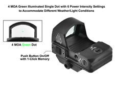 UTG Reflex Micro Dot Sight  Red / Green  4 MOA Adaptive Base  LIFETIME WARRANTY
