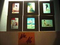 6 Akt Fotos 1950-1960 Jahre.Dias Künstlerische Frauen Akt Fotos-nude photos.N.16