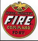 New York Fire Department (FDNY) Special Operations Command Patch