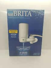 NEW BRITA Complete Faucet Mount WATER FILTRATION SYSTEM / FILTER - WHITE