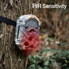 1080P Wildkamera Jagdkamera Überwachung 16MP Fotofalle IR Nachtsicht Wasserdicht