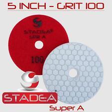 "Stadea 5"" Dry Diamond Polishing Pad Stone - Granite Terrazzo Floor Polishing"