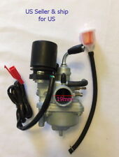 2 stroke Carburator Fits Chinese Sundiro Sunray 50cc Quad   With Gas Filter