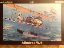 Eduard 1/48 scale Albatros W.4 floatplane, Profipack; OOP; 8084 2003.