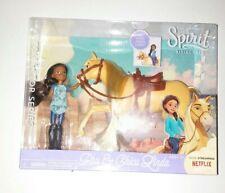 "Collectors Series Spirit Riding Free 5"" Doll & Horse Set PRU & Chica Linda New"