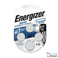 4 ENERGIZER CR2032 ULTIMATE LITHIUM BATTERIES 4BL 3V COIN CELL EXP 2025 NEW