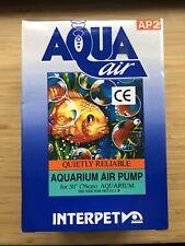 Interpet Aqua Air AP2 Aquarium Air Pump BNIB