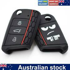 Silicone Car Remote Key Case Cover For Vw Volkswagen Golf Mk7 For Skoda SEAT
