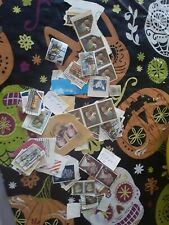 old stamps. Some used. Some new. Collectables