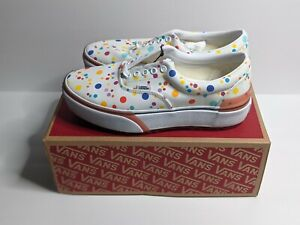 VANS ERA STACKED UV INK WHITE FLORAL WOMEN'S SIZE  6 TIK TOK FAMOUS IN HAND 💐