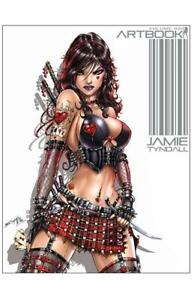Jamie Tyndall Artbook Volume 2 Signed Hard Cover Edition !!!   NM