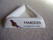MARQUES BEER TRIANGLE SHAPED ASHTRAY 1960'S LONE STAR BEER