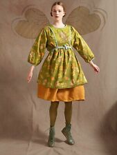 Gudrun Sjoden  embroidered Angels Cotton Tunic Size XL (20)