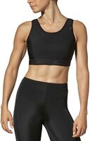 CW-X 188887 Womens High Impact Stabilyx Full Figure Sports Bra Black Size 36D