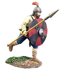 Britains Wrath Of The Northmen 62116 Osgar Saxon Warrior Running With Spear Mib