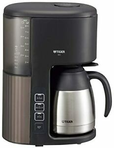Tiger thermos (TIGER) coffeeManufacturer for 8 cups Vacuum stainless steel serv