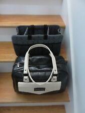 MARY KAY BLACK DELUX CONSULTANT COSMETIC CASE WITH TOTE BAG