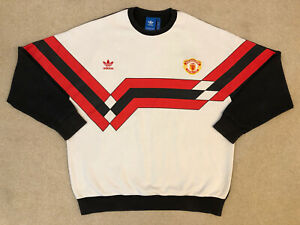 Manchester United Adidas Originals Sweatshirt Size: Adults XL