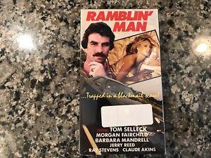 Ramblin Man New Sealed Vhs! 1979 Action!